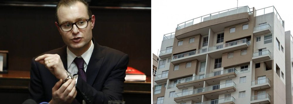 """Para o jornalista Fernando Brito, editor do Tijolaço, """"a entrega das alegações finais da defesa do ex-presidente Lula, termina com uma surpresa o insólito processo do """"triplex do Guarujá""""""""; """"O apartamento 164 A, do edifício Solaris, está em nome da OAS Empreendimentos S/A, mas, desde 2010, quem detém 100% dos direitos econômico-financeiros sobre o imóvel é um fundo gerido pela Caixa Econômica Federal"""", afirmam os advogados Cristiano e Vanessa Martins, responsáveis pela defesa do ex-presidente; """"Será que vem ao caso, para Sérgio Moro?"""", questiona"""