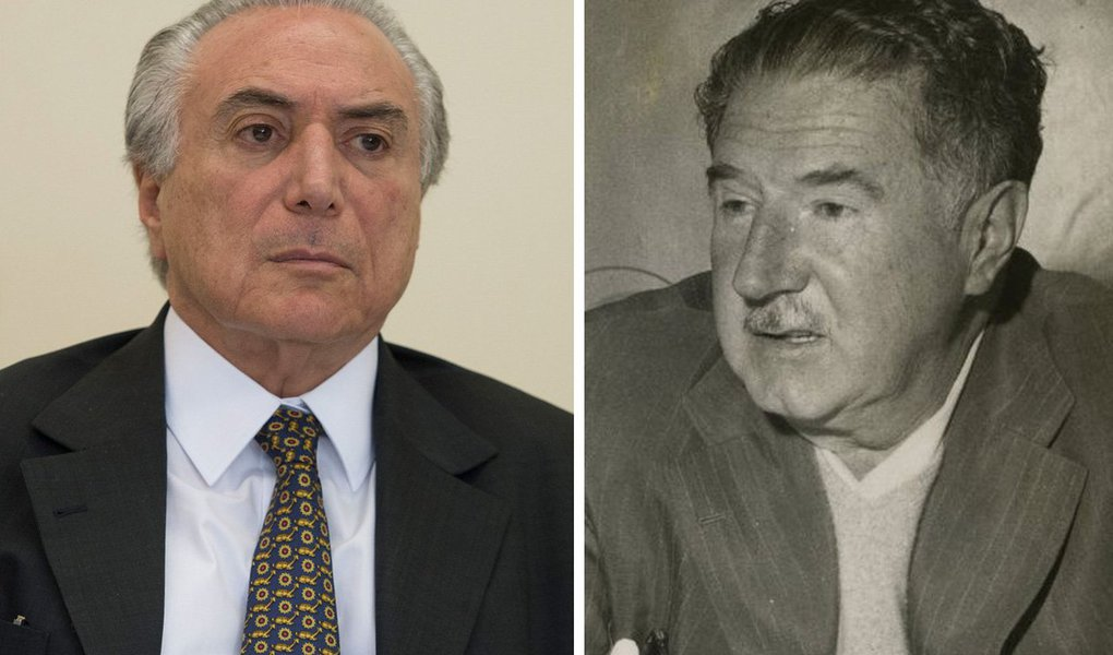 """""""Essa decisão do ministro Edson Fachin de permitir que o interrogatório de Temer seja feito por escrito, e concedendo 24 horas de prazo para as respostas (é mais ou menos como fazer a prova do vestibular em casa), me lembrou um escândalo de corrupção dos anos 1950, envolvendo o ex-governador de São Paulo, Adhemar de Barros"""", diz o colunista do 247 Alex Solnik, ao relembrar o """"escândalo dos Chevrolet da Força Pública"""""""
