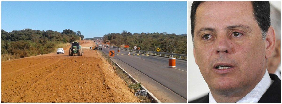 O governador de Goiás, Marconi Perillo, e o presidente da Agetop, Jayme Rincón, visitarão as obras finais de duplicação dos 150 quilômetros da GO-070, entre Goiânia e a Cidade de Goiás nesta terça-feira (25); homens e máquinas da Agência trabalham na construção da segunda pista em diferentes pontos da rodovia: no trecho entre a Cidade de Goiás e o trevo de Mossâmedes (14,5 km de extensão) e no trecho Itauçu –Entroncamento com a GO-164 (Mossâmedes), que envolve o trevo de acesso à Taquaral, a entrada e saída de Itaberaí e o encabeçamento da segunda ponte sobre o Rio Uru
