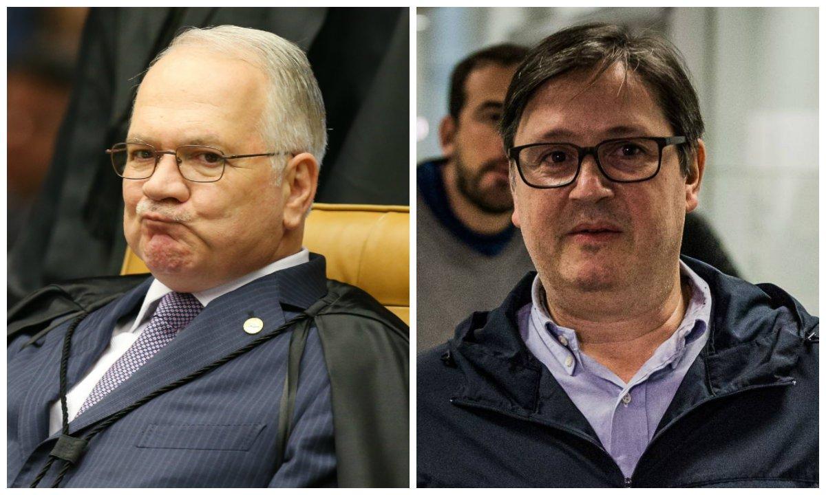 Ministro do Supremo Tribunal Federal (STF) Edson Fachin e ex-deputado Rodrigo Rocha Loures (PMDB-PR)