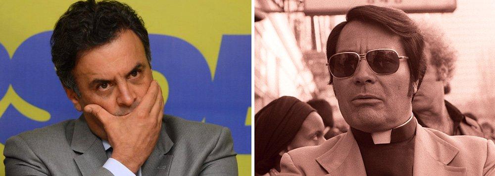 """""""Se os tucanos não fizerem nada para tirar Aécio Neves definitivamente da presidência do partido, vão perder o discurso ético, ou seja, vão tomar o suco de uva com cianeto, que é o que ele lhes propõe, cometendo o maior suicídio político da história brasileira"""", diz o colunista do 247 Alex Solnik, referindo-se ao caso do americano Jim Jones, que liderou um suicídio de 909 pessoas em 1978; """"Como o seu futuro político é uma miragem, a única alternativa de Aécio deveria ser salvar o PSDB, renunciando ao cargo, se ele não fosse quem é: muito mais parecido com Temer que com seu avô. Vai amarrar-se à cadeira de senador o máximo de tempo possível, alegando inocência, para não cair nas garras de Sérgio Moro, contando com a lentidão tradicional dos inquéritos a cargo do STF"""", diz Solnik"""