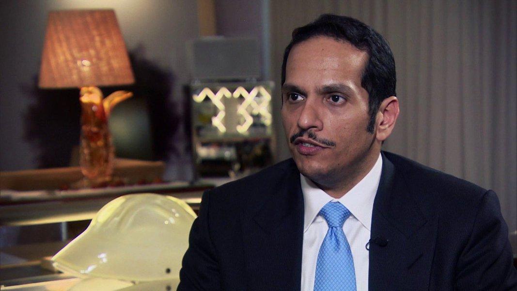 Doha agradeceu Moscou por oferecer suprimentos alimentares, em meio à crise diplomática de Qatar com outros estados árabes. A ajuda, entretanto, não é necessária neste momento, disse o ministro das Relações Exteriores do Qatar, Mohammed bin Abdulrahman Al Thani (foto); na segunda-feira, a Arábia Saudita, o Bahrein, os Emirados Árabes Unidos e o Egito romperam as relações diplomáticas com o Qatar, acusando o país de apoiar organizações terroristas e de desestabilizar a situação no Oriente Médio