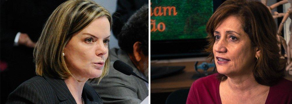 """A senadora Gleisi Hoffmann (PR), presidente do PT, telefonou para a jornalista Míriam Leitão quando leu sua coluna nesta terça-feira 13; """"Eu telefonei para Miriam Leitão para lamentar o ocorrido. Não foi para para me desculpar ou me solidarizar"""", explicou, em entrevista ao jornalista Joaquim de Carvalho, do DCM; """"Admito que eu errei quando liguei para Miriam Leitão sem antes falar com nossa direção no Rio de Janeiro. É uma lição que a gente aprende na luta"""", acrescentou, sobre; versão de Míriam de que foi hostilizada por petistas foi contestada por outros passageiros que estavam no voo"""