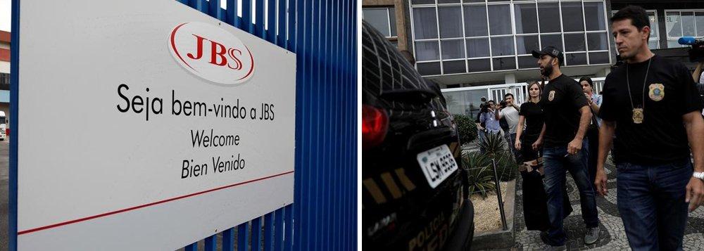 Polícia Federal deflagrou uma nova operação mirando o grupo JBS; agentes federais realizaram uma série de buscas na sede da empresa, em São Paulo, visando encontrar documentos para apurar os lucros obtidos pela companhia que teriam sido obtidos por meio do uso de informações privilegiadas a partir das delações premiadas de executivos da empresa