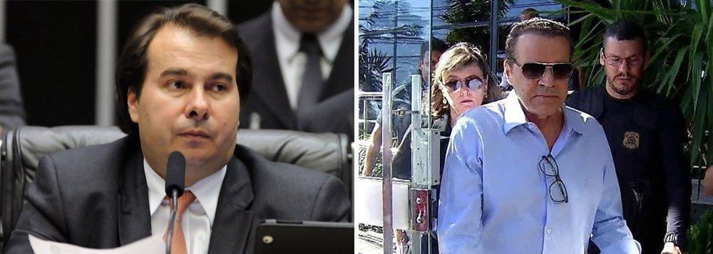 """""""Acho que tem tido um excesso de prisões preventivas. O [ex-]deputado Henrique Eduardo Alves tem endereço, não tinha nenhuma expectativa de sair do Brasil. Mas é uma decisão da Justiça que, claro, foi executada pela PF, e a gente precisa executar"""", disse o presidente da Câmara, Rodrigo Maia (DEM) sobrea prisão nesta terça-feira, 6, do ex-presidente da Casa Henrique Eduardo Alves (PMDB), acusado de receber pelo menos R$ 7,5 milhões em propinas"""