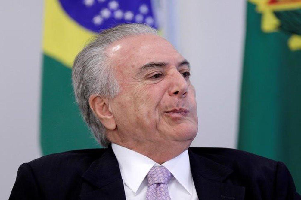 Presidente Michel Temer no Palácio do Planalto. 10/05/2017 REUTERS/Ueslei Marcelino