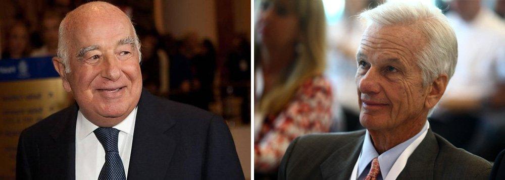 Desgoverno Temer faz mais ricos do Brasil terem prejuízo histórico; somente os donos desses bilionários sofreram queda de R$ 2,7 bilhões em investimentos em apenas três dias; o bilionário Joseph Safra, fundador do Banco Safra, sofreu a maior perda, de mais de US$ 1 bilhão; Jorge Paulo Lemann, a pessoa mais rica do Brasil, perdeu R$ 930 milhões; somente o 3G, fundo de investimentos no qual Lemann é sócio, perdeu R$ 1,8 bilhões em três dias