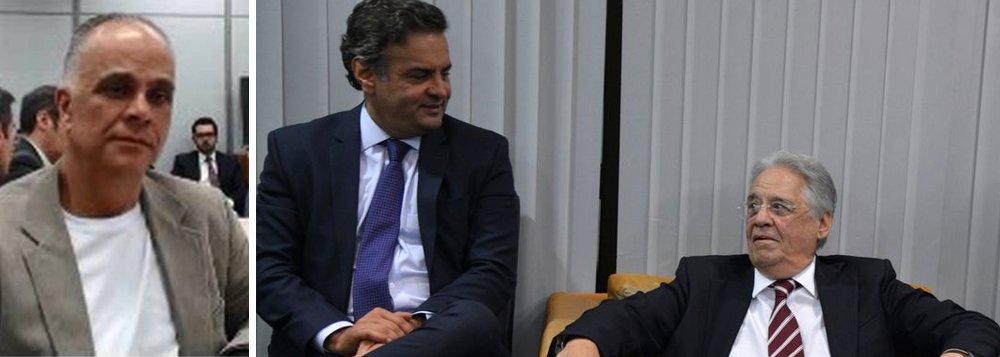 Nenhum chefão do PSDB foi para a cadeia até hoje, o que confirma uma brincadeira que circula pela internet: para não ser investigado, julgado, condenado e, muito menos, preso, basta você se filiar ao PSDB!