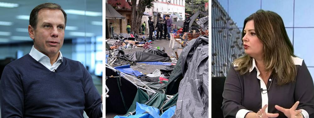 """A secretáriade Direitos Humanos da prefeitura de São Paulo, Patrícia Bezerra, pediu demissão do cargo na noite de quarta (24); ela entregou uma carta ao prefeito João Doria (PSDB);na qual informa sua """"decisão em caráter pessoal e irrevogável"""" de sair da função, que ocupava desde o início da gestão, em janeiro; em vídeo que veio a público mais cedo, Patrícia diz em uma reunião com representantes de movimentos sociais que a operação de domingo (21) na cracolândia foi """"desastrosa""""; """"Agora a besteira já está feita"""", afirmou no encontro"""