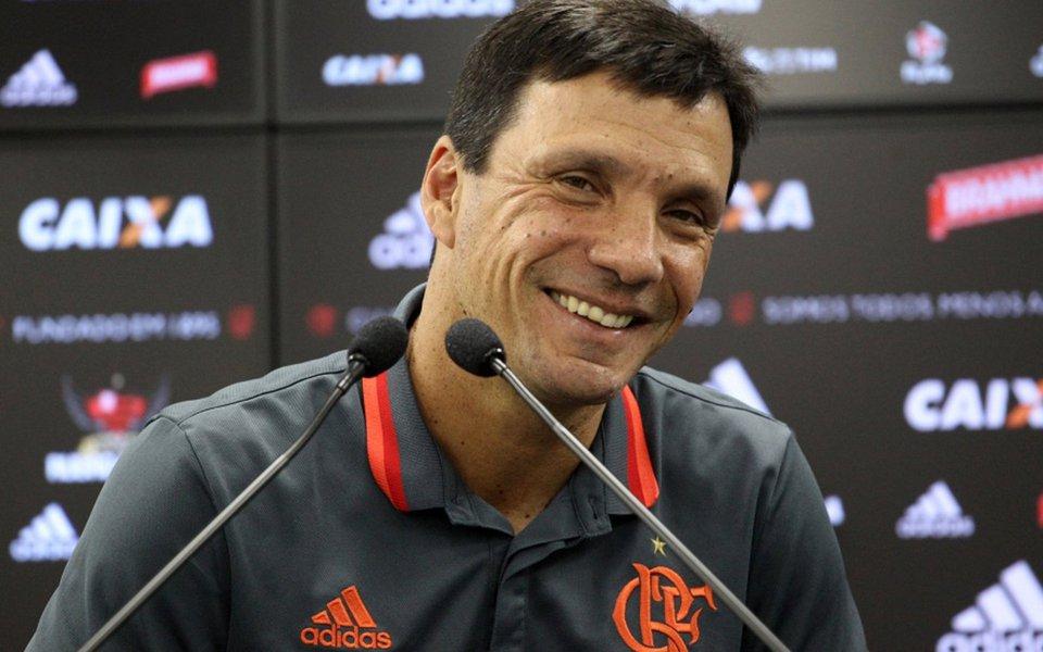 Ele bem que tentou, mas não conseguiu eliminar o Flamengo da copa do Brasil