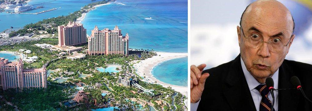Reportagem do jornalista Fernando Brito revela como o ministro Henrique Meirelles usou empresas abertas no paraíso fiscal das Bahamas para manter os R$ 217 milhões que recebeu em consultorias; segundo ele, Meirelles manteve a própria mãe, já falecida, como sócia em suas offshores