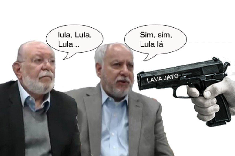 Renato Duque e Leo Pinheiro