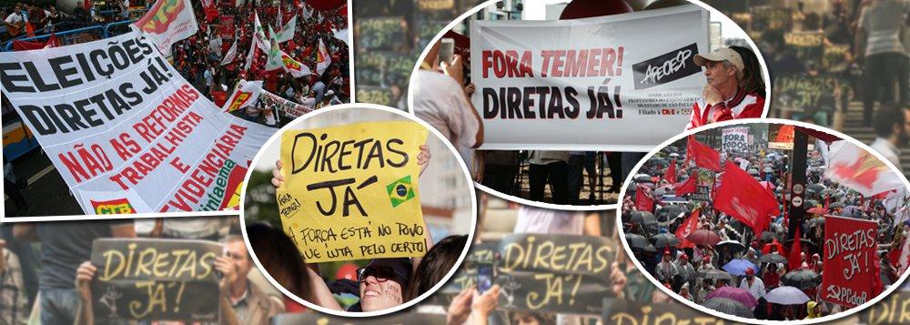 """""""O que é preciso levar em conta neste momento de gravidade da situação em nosso País é a necessidade de união e mobilização das mais amplas camadas do povo brasileiro, essenciais para a reconquista da hegemonia política e de ideias, por parte das forças que defendem e lutam pela democracia, pela soberania nacional, pelo desenvolvimento, pelos direitos econômicos e socais e contra as antirreformas. É a alternativa para a retomada do caminho civilizatório interrompido com o golpe parlamentar"""", afirma em artigo o ex-deputado Aldo Arantes; """"O caminho democrático para solucionar tais conflitos é a eleição direta para Presidente da República"""", ressalta"""