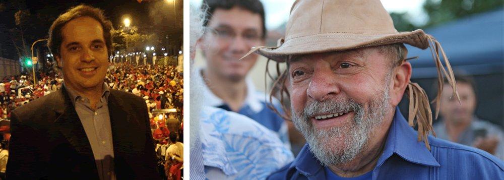 """""""A frase de Jobim indica que a parte mais lúcida da elite política e empresarial já percebeu o óbvio: impedir Lula de ser candidato, no tapetão, como pretendem os celerados de Curitiba, teria um duplo caráter desestabilizador"""", diz o jornalista Rodrigo Vianna, do blog Escrevinhador, sobre a declaração do em-ministro Nelson Jobim de que """"proibir Lula de ser candidato é fazer o que fizeram os militares""""; """"A centro-direita menos obtusa já compreendeu o perigo que significa barrar Lula. Seria um suicídio da política. Seria caminho para a aventura despótica"""""""