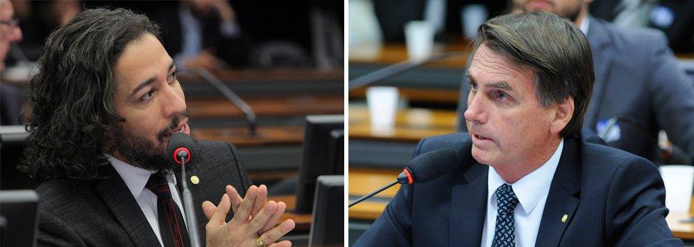 """Deputado federal, porém, foi advertido por ter cuspido em Jair Bolsonaro (PSC-RJ), durante a votação do impeachment de Dilma Rousseff, em abril de 2016; a advertência foi uma """"censura por escrito"""", aprovada por 13 votos a zero no colegiado da Câmara; a sugestão de suspensão do mandato foi derrotada por 9 votos a 4; segundo Jean, o cuspe foi uma reação a ofensas homofóbicas feitas por Bolsonaro contra ele"""