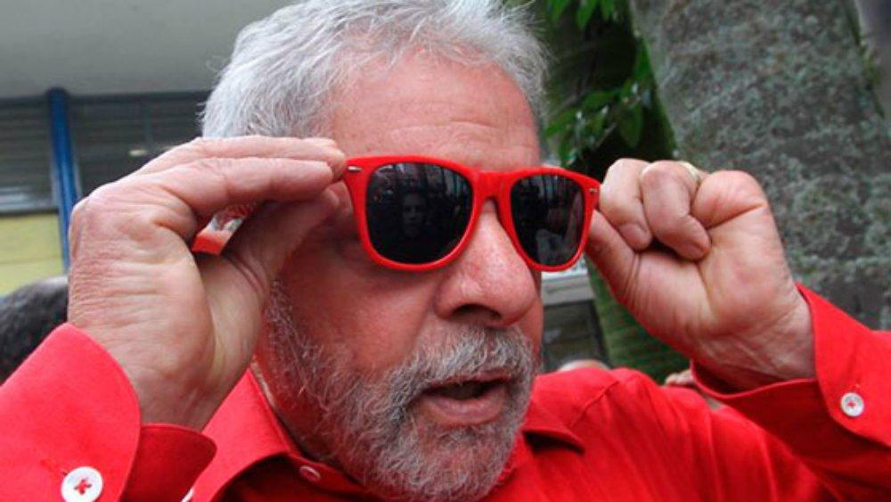Lula óculos