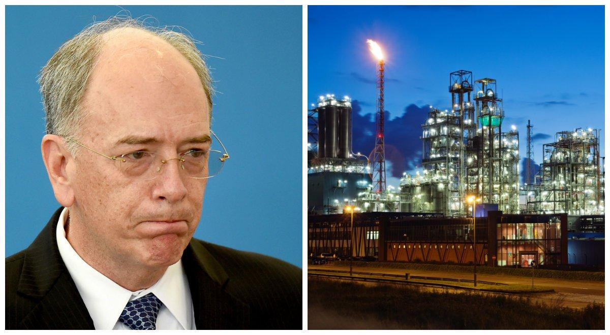 Presidente da Petrobras, Pedro Parente, e Petroquímica Suape