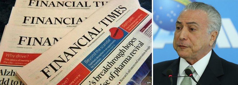 """Reportagem do jornal Financial Times desta quarta-feira, 5, mostra que, apesar da incerteza política, do desemprego recorde e do ainda em declínio, o """"rali"""" de lucros do mercado """"foi alcançado""""; """"O mercado de ações subiu 39 por cento (...) de longe o mais forte desempenho de qualquer país no universo dos mercados emergentes que atraiu facilmente os maiores fluxos de dinheiro dos investidores estrangeiros""""; texto de Fernando Brito, do Tijolaço"""