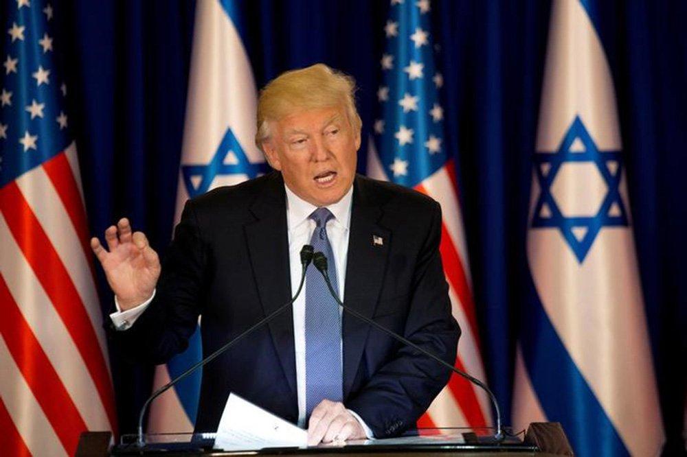 Trump faz discurso em Jerusalém 22/5/2017 REUTERSAriel Schalit/Divulgação