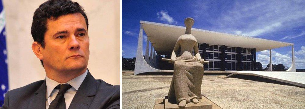 Segundo a jornalista Mônica Bergamo, a condução coercitiva do blogueiro Eduardo Guimarães, determinada pelo juiz Sergio Moro, deixou ministros do STF incomodados; um dos mais antigos da corte se disse chocado com o argumento do juiz de que ele não era jornalista; quem seria ele, perguntou o ministro, para dizer quem é ou não jornalista?