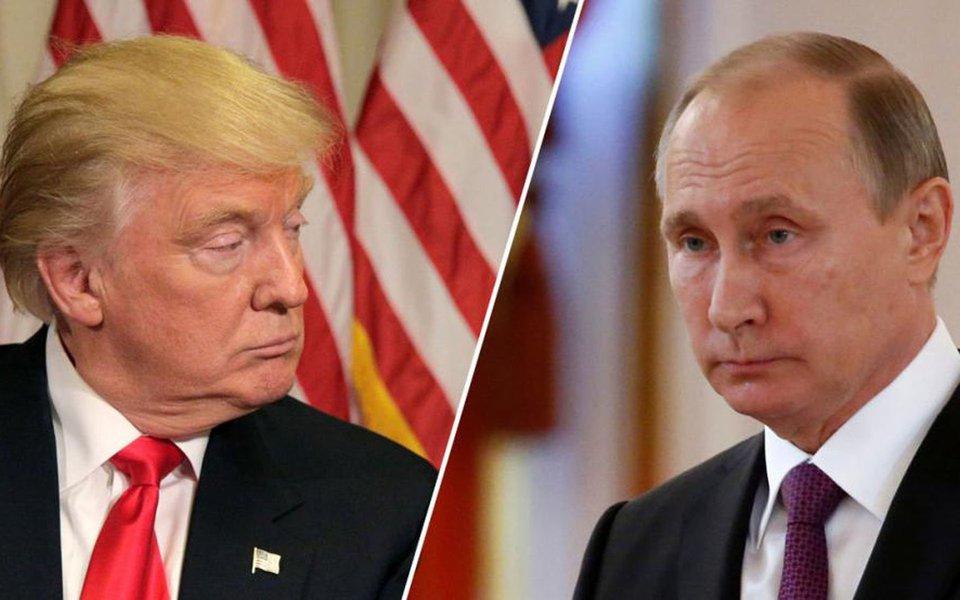 """Após semanas de tensão e hostilidades, as relações entre os Estados Unidos e a Rússia podem melhorar; os russos informaram que estão dispostos a realizar um encontro entre o presidente do país, Vladimir Putin, e seu homólogo americano, Donald Trump; """"Temos reiterado muitas vezes a nossa disponibilidade para tal encontro. Damo-nos conta de que é impossível formular a agenda e as áreas funcionais, bem como determinar para onde vamos, sem um contato a nível mais alto"""", afirmou o vice-chanceler russo, Sergei Ryabkov"""