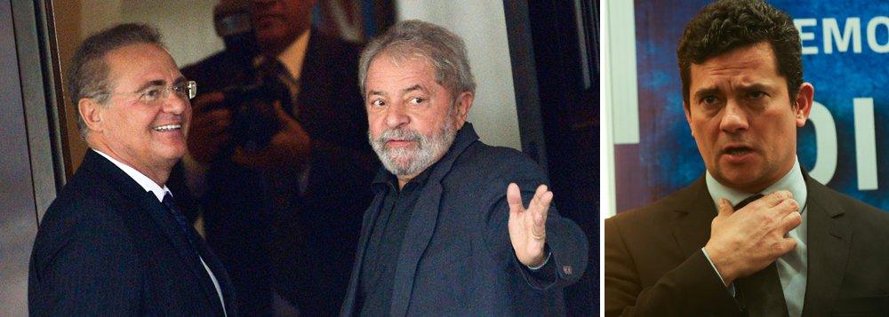 Informação é do jornalista Josias de Souza; segundo ele, Renan Calheiros concluiu que já não há mais tempo para que a Lava Jato impeça a candidatura de Lula; outros peemedebistas compartilham da avaliação de Renan, entre eles o senadorparaense Jader Barbalho e a ex-governadora maranhense Roseana Sarney