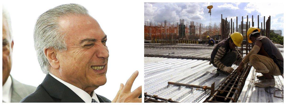 Michel Temer, construção civil .2