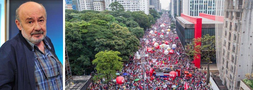 """Jornalista Ricardo Kotscho traça um paralelo entre a primeira greve geral registrada no Brasil, em 1917, à paralisação geral convocada pelos movimentos sociais e centrais sindicais para esta sexta-feira (28) e ressalta que """"se a primeira greve geral durou 30 dias, é impossível prever o tamanho da greve geral marcada para esta sexta-feira, dia 28, véspera do feriadão de 1º de Maio""""; para ele, """"a depender das dimensões que esta greve geral tomar, poderá ser um divisor de águas no contestado governo de Michel Temer, que até agora não foi ameaçado pelo que mais teme (sem trocadilho): as ruas"""""""