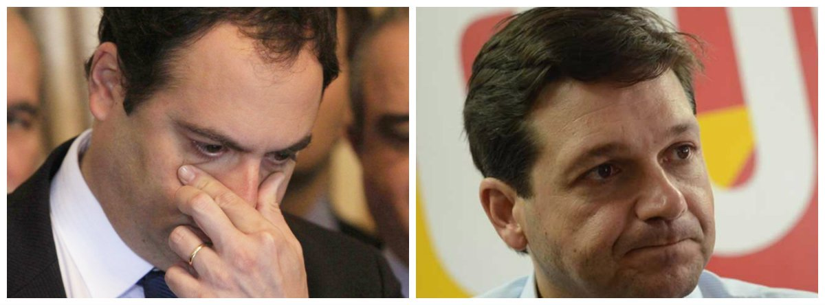 Governador de Pernambuco, Paulo Câmara (PSB), e prefeito do Recife, Geraldo Julio (PSB) .2