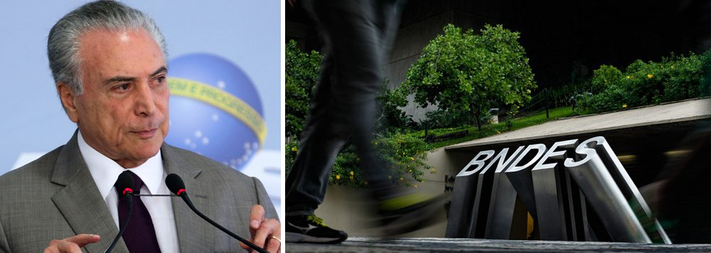 """""""O governo do usurpador quer desmontar os bancos públicos federais e privatizar os bancos públicos estaduais. No final do ano passado, as taxas de juros da Caixa e do Banco do Brasil foram aumentadas. O quadro de trabalhadores do Banco do Brasil foi reduzido através de programa de demissão voluntária que alcançou 10 mil empregados. O BNDES é sufocado obrigando-o a pagar R$ 100 bilhões ao Tesouro em data antecipada. Além disso, a taxa de financiamento do BNDES será uma taxa de mercado"""", diz o senador Lindbergh Farias (PT-RJ); """"No passado, dizia-se que ou o Brasil acabava com a saúva ou a saúva acabava com o Brasil. O governo Temer é a saúva do presente"""""""