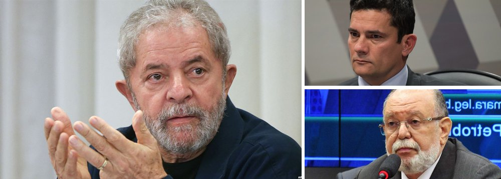 """Texto publicado no site do ex-presidente lembra que o ex-empreiteiro da OAS vai depor ao juiz Sergio Moro na próxima quinta-feira 20 depois de já ter sido condenado pela Lava Jato e em meio a uma negociação de delação para conseguir a liberdade, segundo seus advogados; além disso, teve seus sigilos quebrados e nada foi encontrado contra Lula; em depoimentos, ele já teria inocentado o ex-presidente no caso do triplex no Guarujá, que segundo os investigadores teria sido dado pela empreiteira ao petista; """"É neste contexto que o empresário vai falar a Sérgio Moro na próxima quinta. Preso, dentro de um processo em que também é réu e, segundo seus advogados, negociando uma delação para sair da cadeia, que caberá a Sérgio Moro decidir se ele será ou não merecedor"""""""