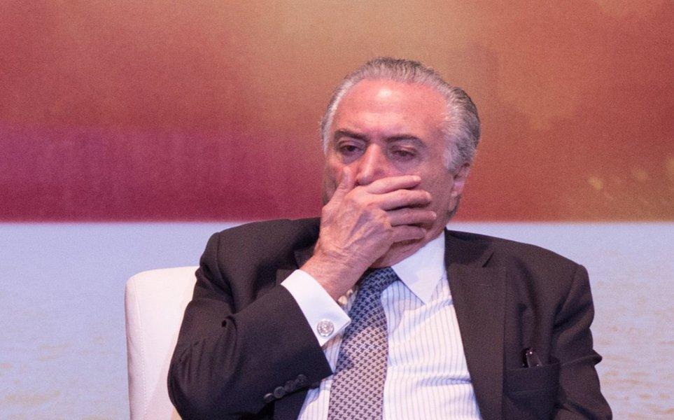 Enquete feita pelo PMDB de Michel Temer revela que 97% dos brasileiros são contra a reforma da Previdência; até a noite de ontem (12), 11.121 pessoas tinham participado da pesquisa, das quais 10.736 (97%) disseram ser contra a reforma; apenas 183 pessoas, o equivalente a 2%, responderam que são favoráveis à proposta; outras 167 (1%) disseram não ter conhecimento sobre a matéria
