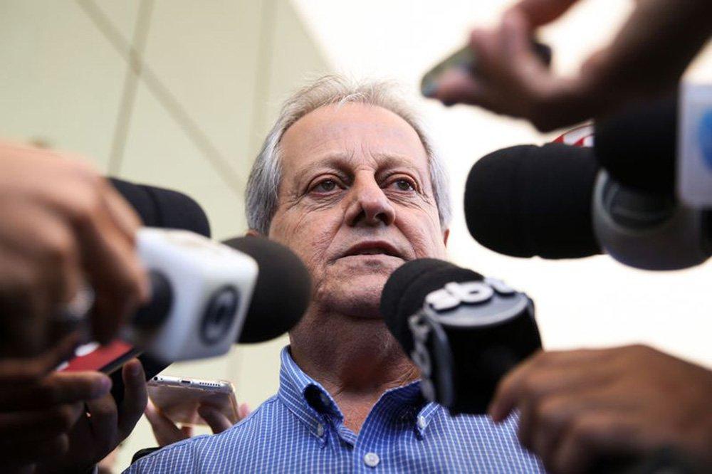 Brasília - O ex-presidente da Fundação Nacional do Índio (Funai), Antônio Costa, durante entrevista coletiva sobre a sua exoneração (Marcelo Camargo/Agência Brasil)