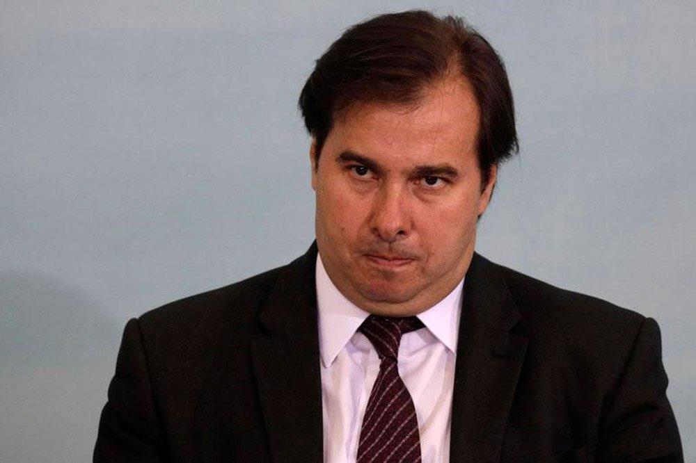 Presidente da Câmara dos Deputados, Rodrigo Maia (DEM-RJ), durante cerimônia em Brasília 07/06/2017 REUTERS/Ueslei Marcelino