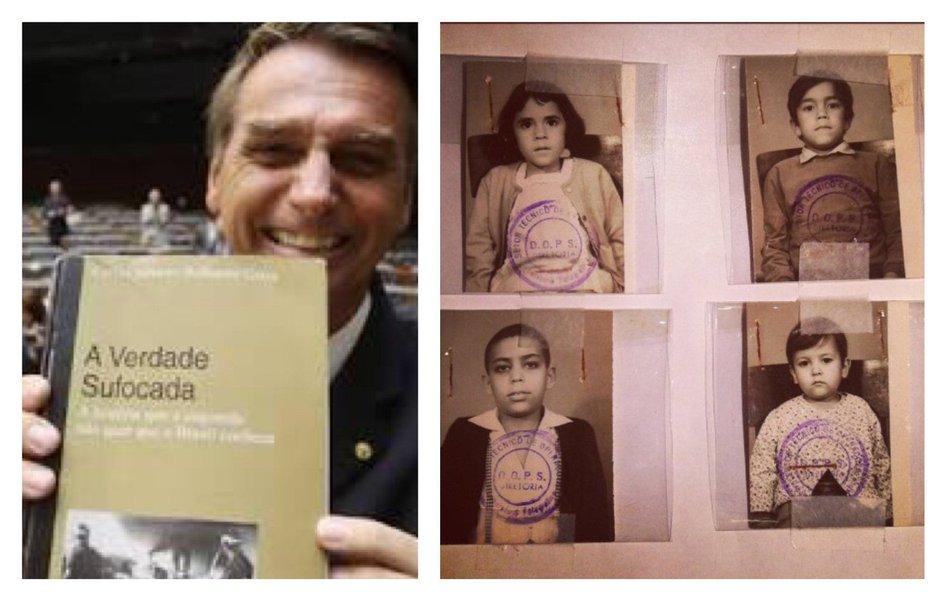 Sobre a polêmica performance artística que expôs crianças ao contato com um ator nu, que fique bem claro: não cola preocupação a quem é seguidor de Jair Bolsonaro, que faz apologia ao estupro e à tortura.Não leram relatos de crianças que sobreviveram a torturadores que Bolsonaro enaltece como heróis