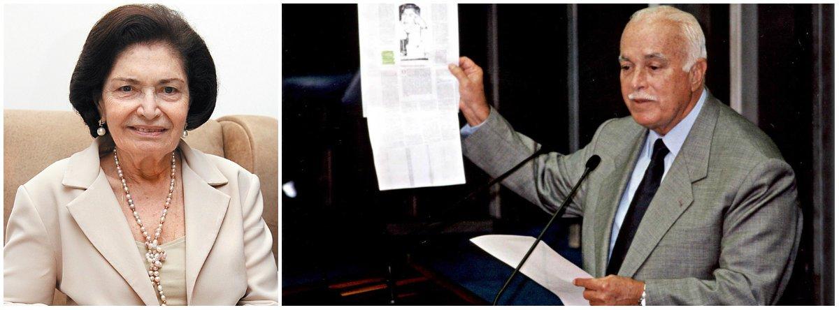 Ex-primeira-dama da Bahia morreu na manhã deste sábado 7, após um Acidente Vascular Cerebral (AVC); avó do atual prefeito de Salvador, ACM Neto, ela foi casada durante 55 anos com o ex-senador ACM, com quem teve quatro filhos