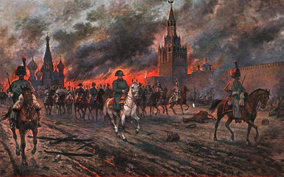 """""""Nem todo incendiário é maluco ou criminoso. Quando, no inverno de 1812, as invencíveis tropas de Napoleão estavam às portas de Moscou, prestes a tomá-la, o prefeito da cidade russa, Conde Fedor Rostopchine, sem contar com tropas russas para protegê-la, ordenou a retirada de toda a população e em seguida mandou incendiar tudo. Napoleão não encontrou uma cidade, mas cinzas. Não conquistou Moscou porque não tinha o que conquistar""""; leia a análise do colunista do 247 Alex Solnik"""