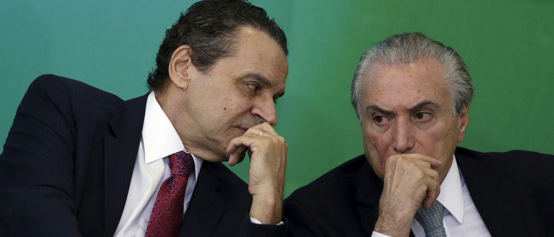 Henrique Eduardo Alves e Michel Temer