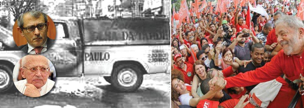 """""""Os Frias nunca tiveram uma boa relação com a democracia. Em 1964, no momento mais importante da história do Brasil até aquele momento, participaram da preparação e apoiaram o golpe militar que liquidou tudo o que havia de democracia no pais"""", lembra o sociólogo e colunista do 247 Emir Sader, ao comentar a história dos donos da Folha de S. Paulo; """"Da mesma forma que tentaram passar a ideia de uma """"ditabranda"""", tentam passar a ideia de que não houve golpe e que existe democracia no Brasil, por meio de uma espécie de """"democradura"""", uma ditadura disfarçada de democracia"""", diz Emir; """"Empresa dos Frias chegou a seu final, depois de longo processo de decadência, enquanto Lula o PT sobrevivem a tudo isso, na luta pela democracia, contra a qual a empresa dos Frias dilapidou tudo o que tinha"""""""