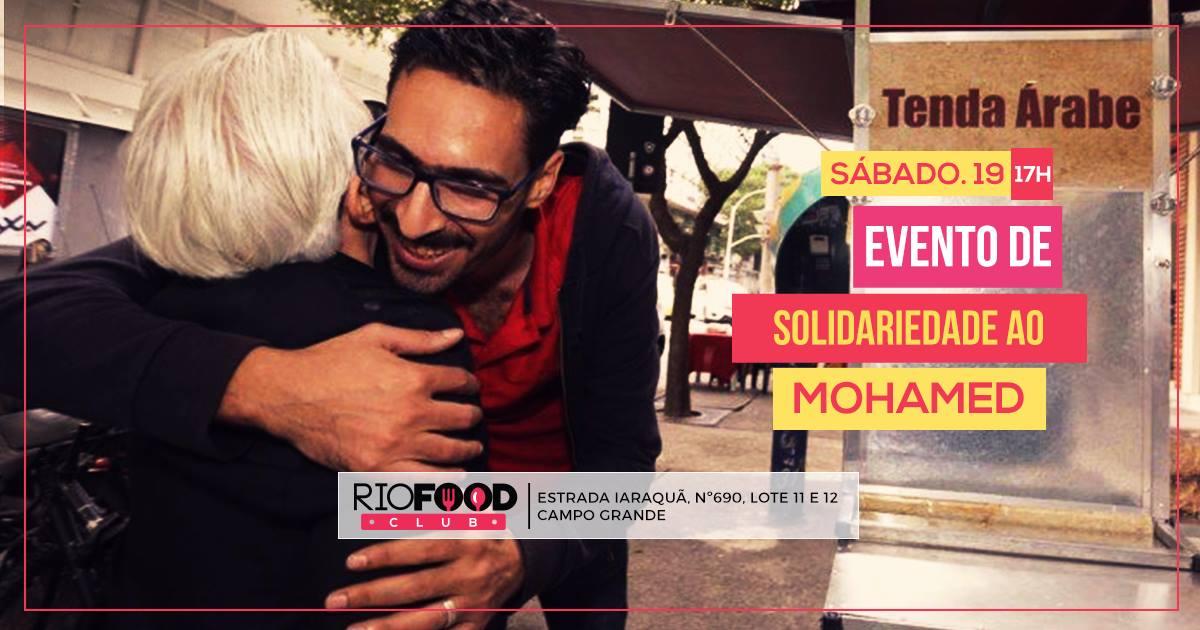Os xenófobos que hostilizaram o refugiado sírio Mohamed Ali, que estava vendendo esfihas em sua barraca em Copacabana, deverá se acostumar com a presença vendedor; além de conseguir uma licença da prefeitura para trabalhar, Mohamed ficou famoso em um ato de solidariedade que reuniu milhares de pessoas - uma segunda versão do evento acontecerá neste sábado (19)