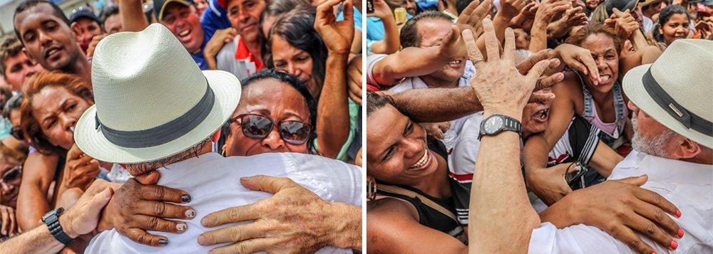 Uma nova pesquisa presidencial feita pelo Ibope confirma: se as eleições fossem hoje, o ex-presidente Luiz Inácio Lula da Silva seria novamente eleito presidente da República; em qualquer cenário apresentado ao eleitor, Lula fica com o mínimo de 35% e o máximo de 36% das intenções de voto; o deputado Jair Bolsonaro (PSC-RJ) aparece em segundo lugar, com 15%, enquanto Marina Silva, da Rede, tem 11%, em terceiro lugar; tanto os candidatos tucanos Geraldo Alckmin e João Doria, assim como o apresentador Luciano Huck, nome de laboratório que vem sendo preparado pela Globo, têm percentuais ao redor de 5%; sem Lula, quem mais se beneficia é Ciro Gomes, que vai a 11%
