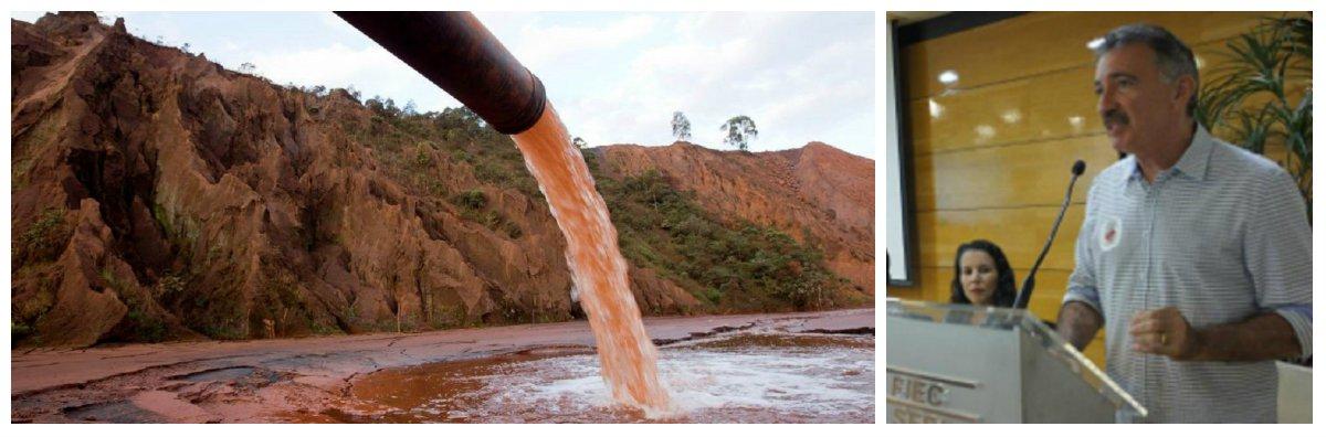 O secretário de Meio Ambiente do Ceará, Artur Bruno, apresentou ontem, na sede da Federação das Indústrias, pararepresentantes de fábricas da Região Metropolitana de Fortaleza,aResolução nº 02,do Conselho Estadual do Meio Ambienteque trata do reuso da água e da gestão do lançamento de efluentes líquidos