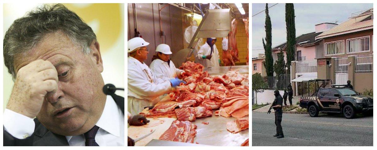 Ministro da Agricultura Blairo Maggi e Operação Carne Fraca da Polícia Federal .2