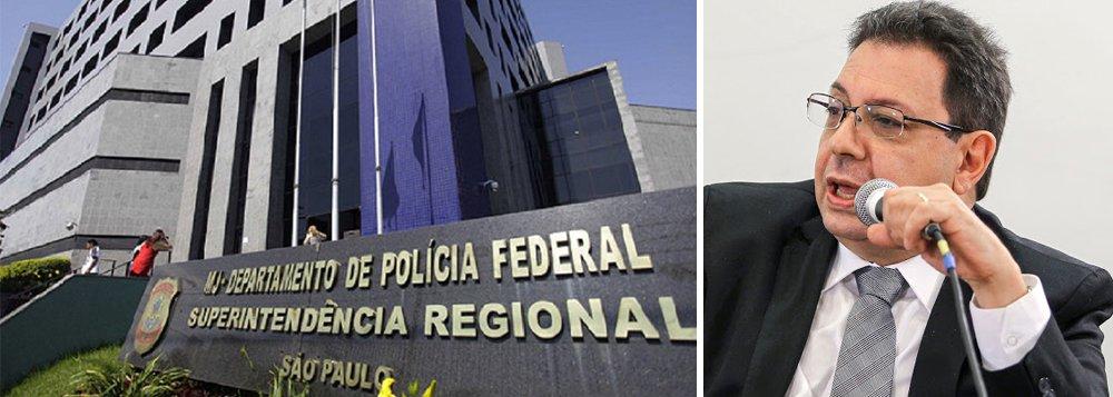 Segundo informações da página Jornalistas Livres, Eduardo Guimarães, do Blog da Cidadania, foi alvo de um mandado de condução coercitiva nesta manhã, levado para a Superintendência da PF em São Paulo; advogados se dirigem ao local; caso pode estar relacionado a uma apuração de possíveis vazamentos sobre outra condução coercitiva, a do ex-presidente Lula, em março do ano passado
