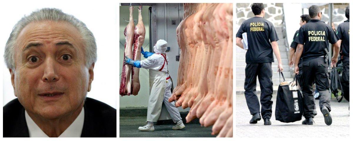 Michel Temer, Operação Carne Fraca, Policia Federal .2