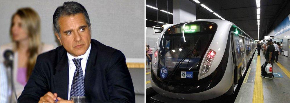 Deputado Júlio Lopes (PP-RJ), que votou a favor do golpe parlamentar de 2016, também será investigado, sob a acusação de ter recebido propina nas obras da Linha 4 do metrô do Rio de Janeiro, que, segundo o TCU, causaram prejuízo de R$ 2,3 bilhões