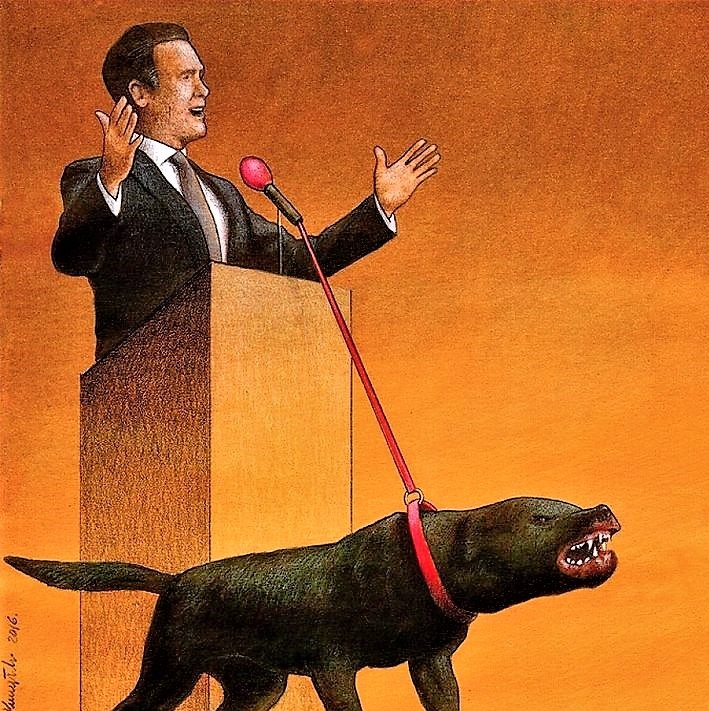"""Ilustração para artigo """"O capital produz angústia"""", de José Marcus de Castro Mattos"""