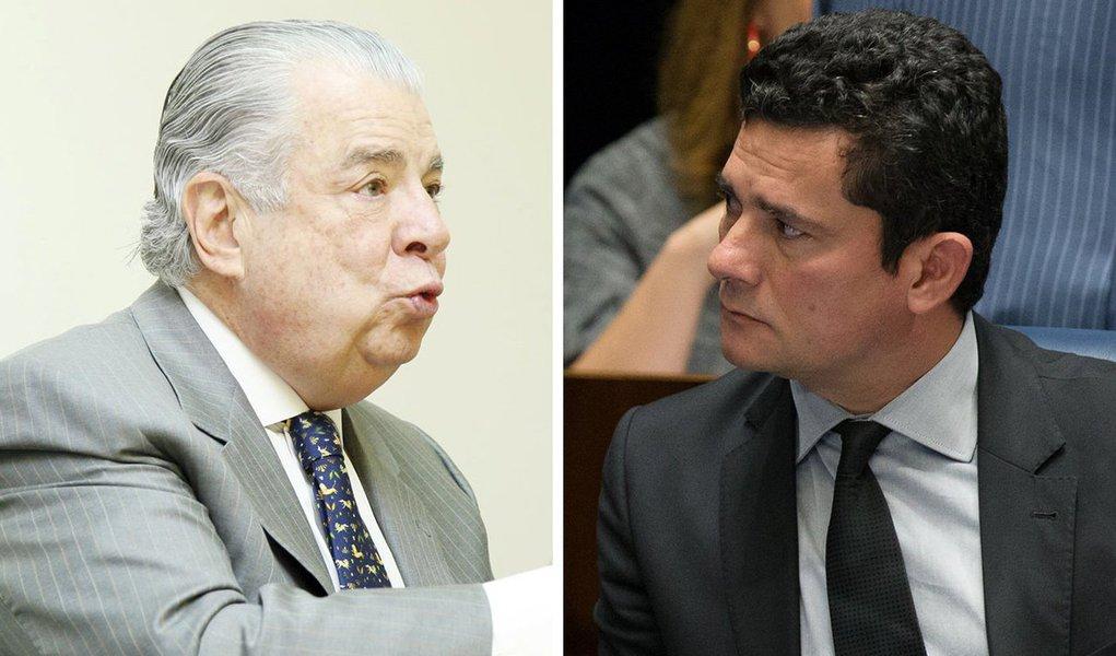 """O juiz Sergio Moro discutiu numa audiência desta tarde, quando o advogado José Roberto Batochio, que defende o ex-ministro Antonio Palocci, o questionou sobre uma testemunha que não presenciou fatos que estavam sendo questionados; trata-se de Fernando Barbosa, testemunha da Odebrecht,que acusou Palocci de ser """"o italiano"""" das planilhas de propina por ouvir dizer de outras pessoas da empresa; o advogado questionou: """"Com o devido respeito, testemunha não pode achar nada, não opina. Não vou aceitar essa violência""""; Moro rebateu: """"Faça concurso para juiz e assuma então a condução da audiência, mas quem manda na audiência é o juiz""""; o advogado disse então para o juiz prestar o exame da Ordem dos Advogados do Brasil (OAB); """"Cada um aqui cumpre o seu papel, tá certo?""""; assista"""