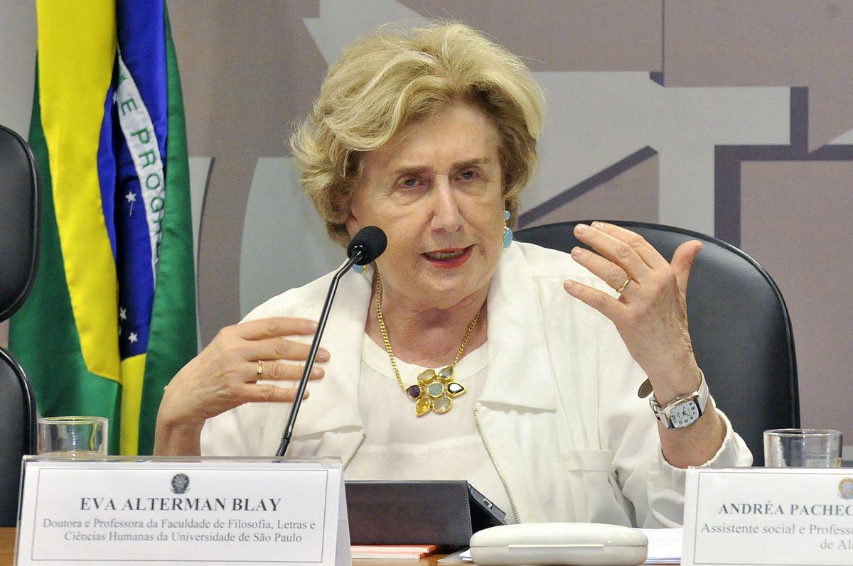Socióloga Eva Blay