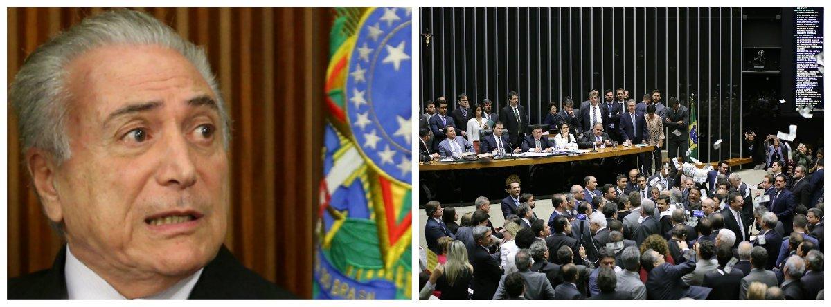 Michel Temer e plenário da Câmara dos Deputados .2